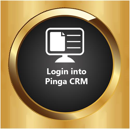 Login into Pinga CRM