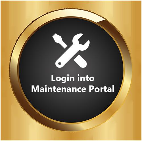 Login into Maintenance Portal